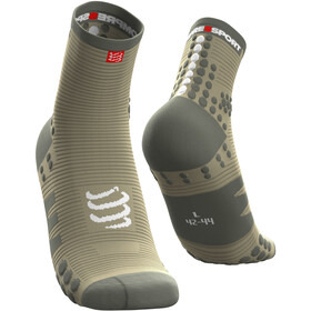 Compressport Pro Racing V3.0 Run Chaussettes Hautes, dusty olive